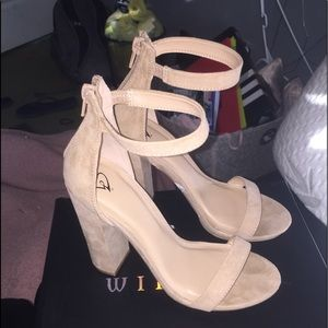 Windsor block heels